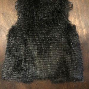 Xhilaration Jackets & Coats - Xhilaration Faux Fur Vest